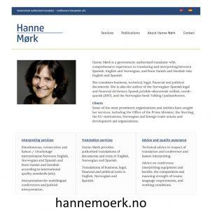 Hanne Mørk